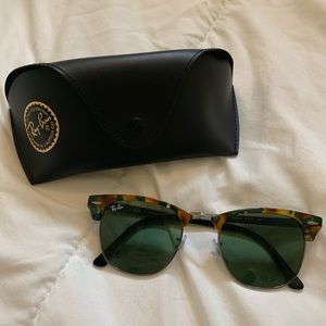 Ray-Ban ClubMaster Color Mix Sunglasses. Brand new